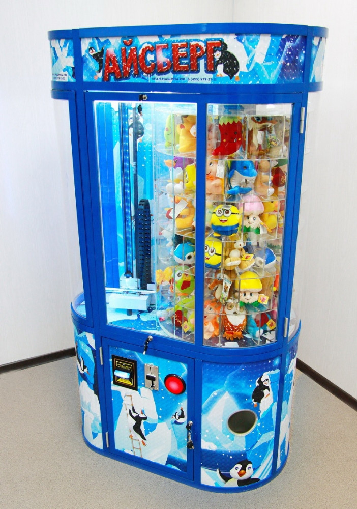 """Vending machine iceberg. The device has no analogues in the world.    Unlike vehicles """"Dozer"""", """"Aladdin"""", """"STALKER"""", """"Sniper"""", """"BULLDOZER"""", """"Time 2 Win"""" and the like, the probability of winning is NOT SET in the program by the owner.  """