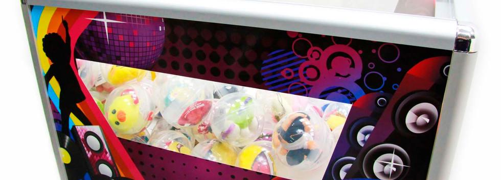 Отсек для капсул с игрушками для автомат