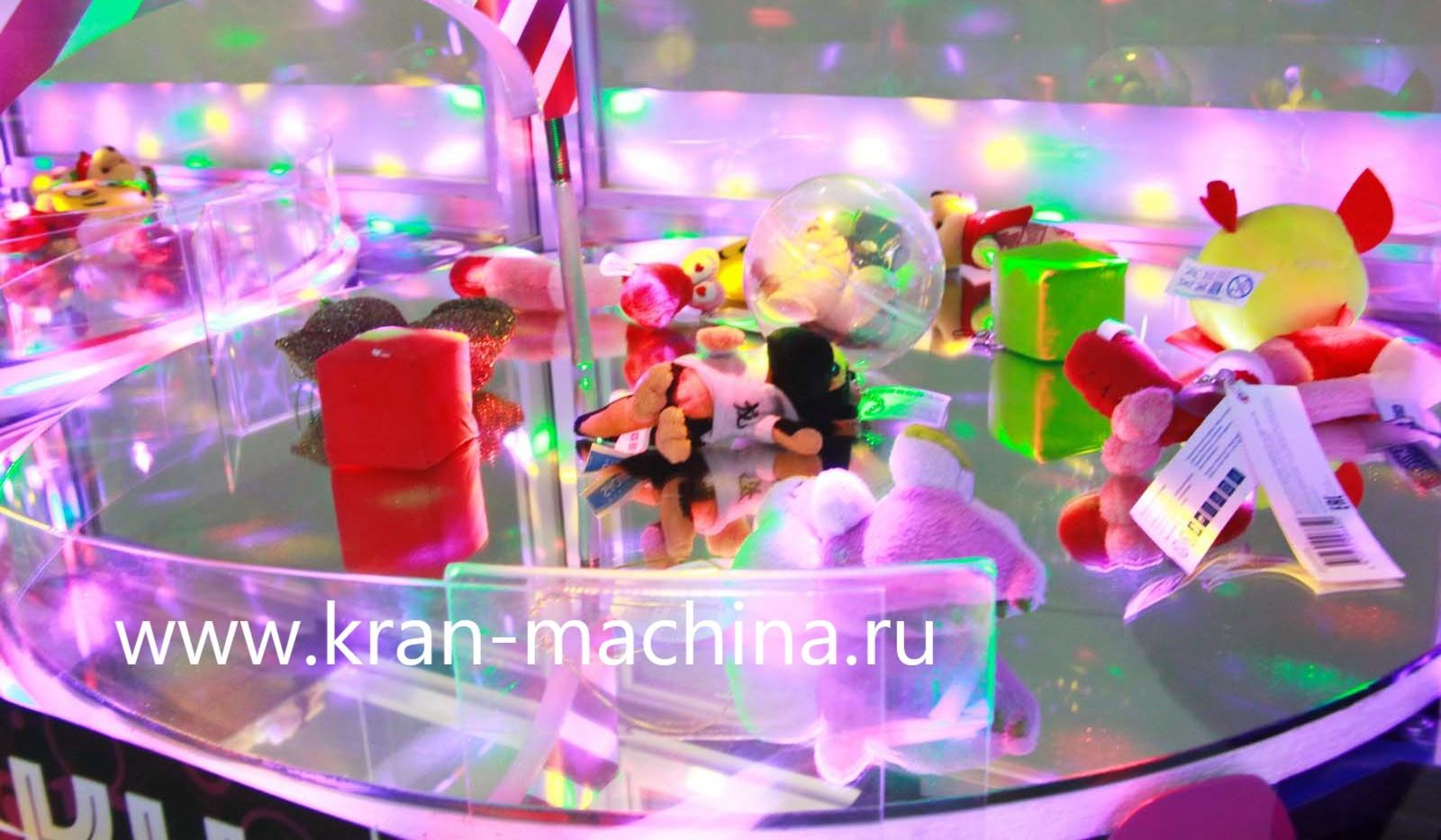 игровое поле с призами Автомата Супер Ди