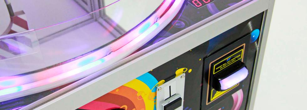Кнопка и платежки Автомата Супер Диско 3