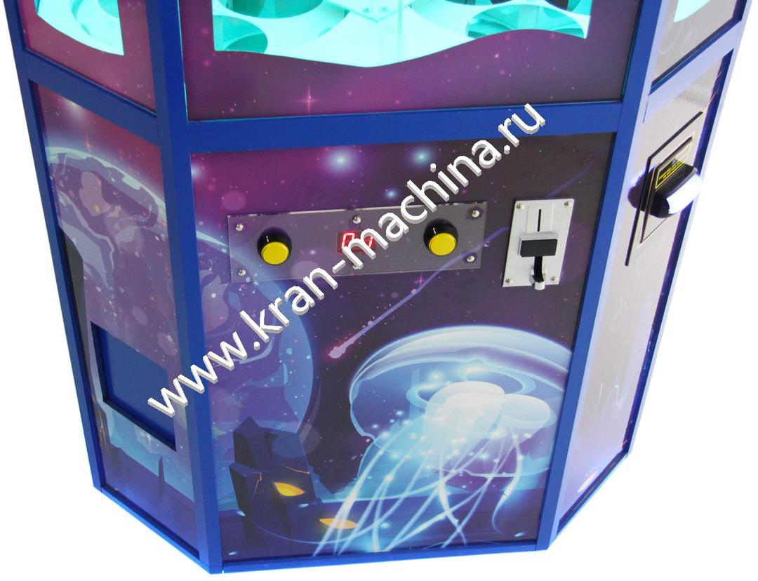 Автомат по продаже игрушек в капсулах 4.