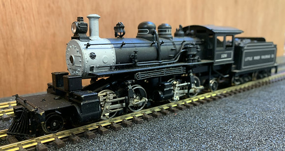 Little River Railroad - 2-4-4-2 Baldwin Mallet #126 - Brass HO.