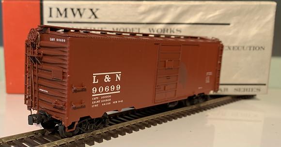 Louisville & Nashville - 40ft  AAR Metal Box Car - HO
