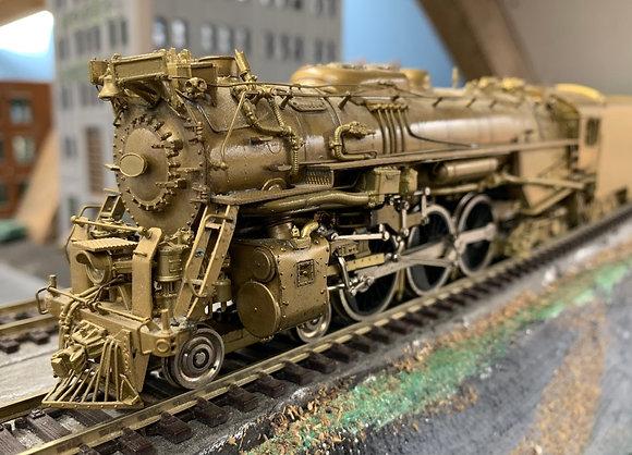 """Chesapeake & Ohio - L2 -  4-6-4 -Hudson """"Baker""""  HO Brass"""
