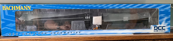 WESTERN PACIFIC #485  - 4-8-4 Class GS64 Streamlined  -  DCC  HO