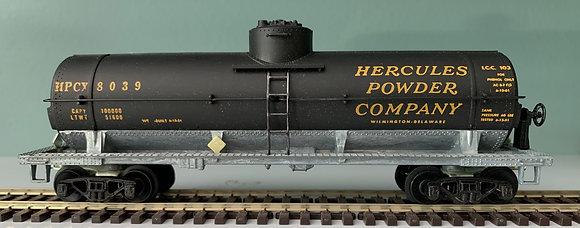 HERCULES Powder Co. - Single Dome Tank Car   - H