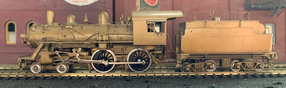 FRISCO - 4-4-0  Class 182-187  Brass  HO