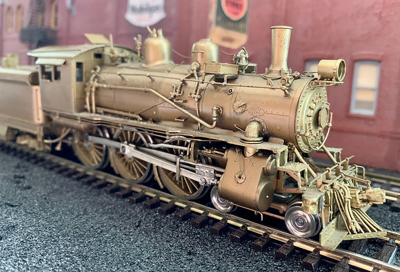 AT&SF  4-6-0 Class #468 Brass