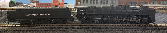 """New York Central """"Niagara"""" - 4-8-4 Class GS64 Streamlined  -  DCC  HO"""