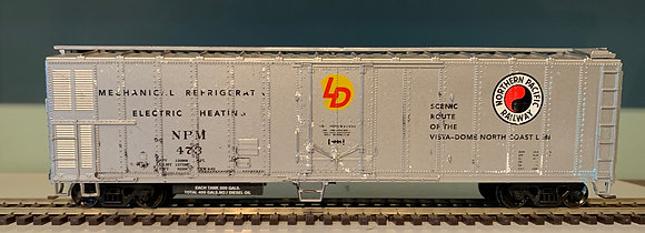 Northern Pacific - 50ft  Metal refer Heat Car - HO