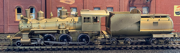 "Union Pacific Railway - 4-6-0  ""1242""  Coal Tender  Brass - HO"