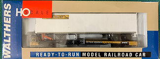 Front Runner + 48' Box Trailer - J B Hunt - Walthers 932-39816 HO NIB