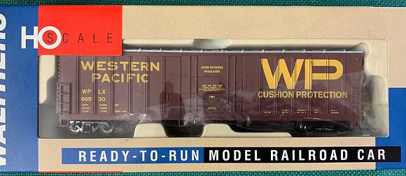 Western Pacific 50' Exterior Post Box Car - Walthers 932-3605  HO NIB