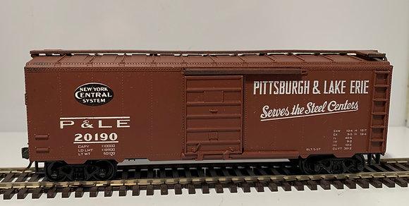 PITTSBURGH & LAKE ERIE - 40ft Steel Single Door Box Car - HO