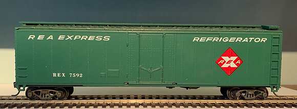 REA - 50ft Single Door Metal Box  Car  - HO