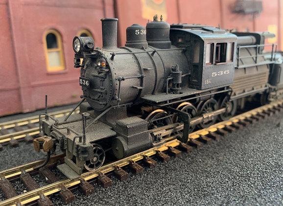 West Island Lines / Reading Lines  Class 15C  #536  2-8-0 Camel Back  - Brass HO