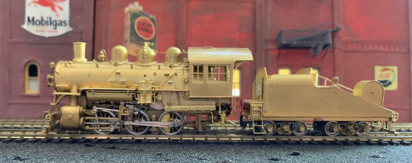"Union Pacific Railway - 0-6-0  ""S6""  Sloping Coal Tender  Brass - HO"