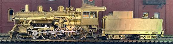 Milwaukee Road - CMSTP&P 4-6-0 Class G6PS   #1108  - Overland Brass HO