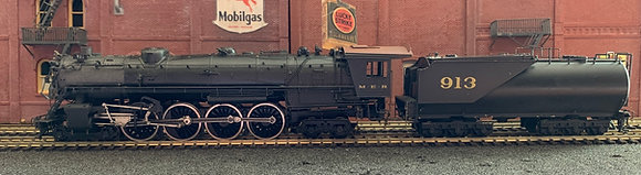 Great Northern / MER S-2  4-8-4 with Vanderbilt Tender - Brass HO