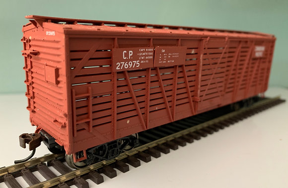 CANADIAN PACIFIC - 40ft Wooden Stock Car - HO