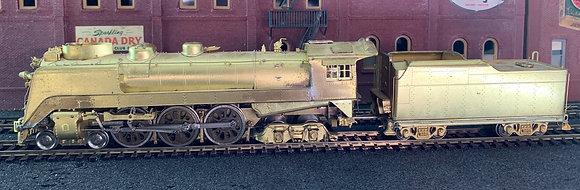 WABASH -  4-6-4 - P1 Streamlined  HO Brass