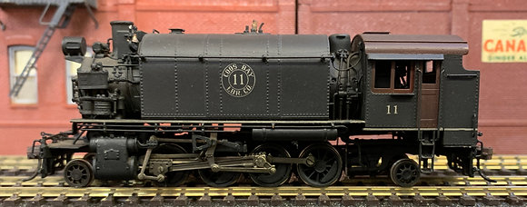 Logging - Coos Bay Lumber Co Alco  2-8-2T No.11 as built - Brass HO.