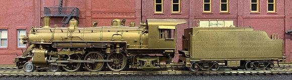 FRISCO - 4-6-2 Unstreamlined  Heavy  Pacific  #1153 Brass  HO