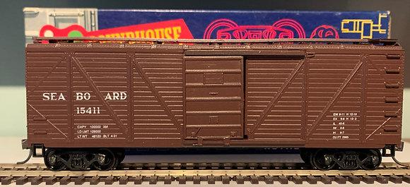 SEABOARD - 40ft Single Door Wood Box Car - HO
