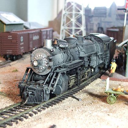 AT&SF - Class 4000 -  2-8-2  - #4001 -  Sunset Brass