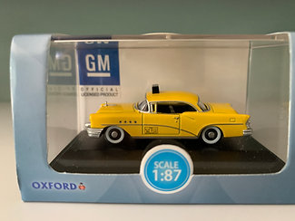 Taxi - Buick Century 1955 - Oxford  Scale 1:87
