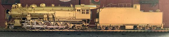 Texas & Pacific Railway - 2-10-2  G1B   Brass -