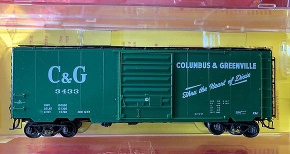 Columbus & Greenville PS1 Box Car  Kadee