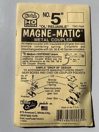 Kadee - Magne-Matic Coupler  #5 'OL' Reliable