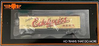 EDELWEISS BEER 40ft Wooden R40-2 Refer Car URT 18312  MTH 80-90023D