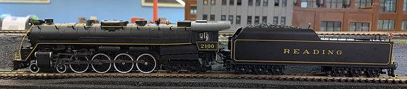 "Reading 4-8-4  T1 #2100 ""Iron Horse""  - HO DCC & Sound"