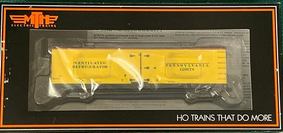Pennsylvania RR 40ft Wooden R40-2 Refer Car 120178  MTH 80-90020