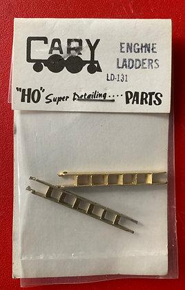 Engine Ladder x 2 - Cary Locomotive Work LD 131- HO Parts