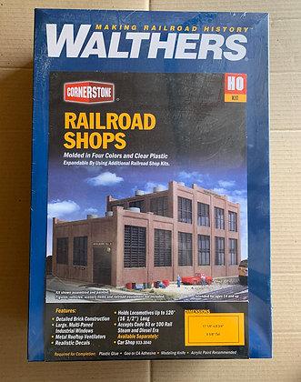 Railroad Shops -Walthers Cornerstone  933-2970
