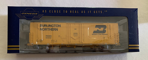 Burlington Northern 50ft PC&F Welded 10' Plug Door Box Car HO