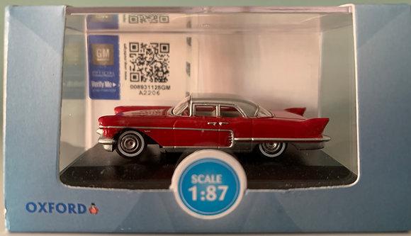 Cadillac Eldorado  1957 - Oxford  Scale 1:87