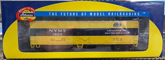 New York Central 50' Smoothside Reefer Car - Athearn  7555  HO