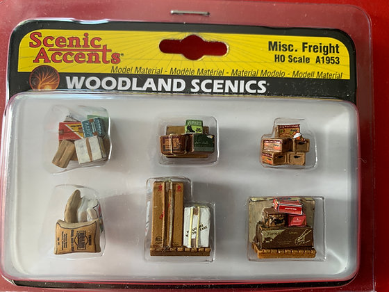 Freight Cargo - Woodlands Scenic  A1953 -  HO