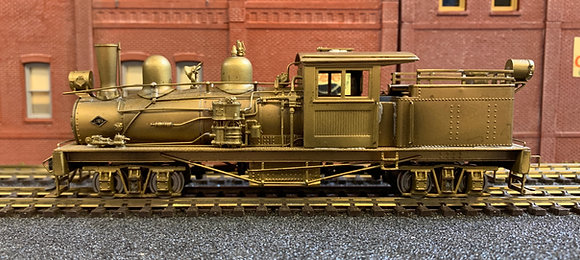 Logging -  SHAY 2 Trucks Class B - Geared - Brass HO.