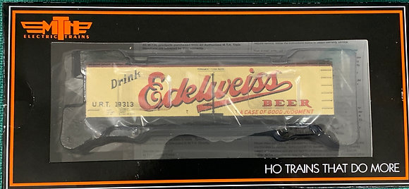 EDELWEISS BEER 40ft Wooden R40-2 Refer Car URT 18313  MTH 80-90023F