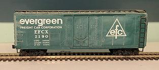 Evergreen - 40ft Steel Door Box  Car - HO
