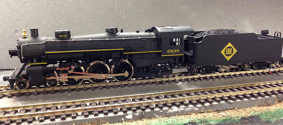 ERIE 4-6-2 Pacific #2936 by Mehano HO Scale