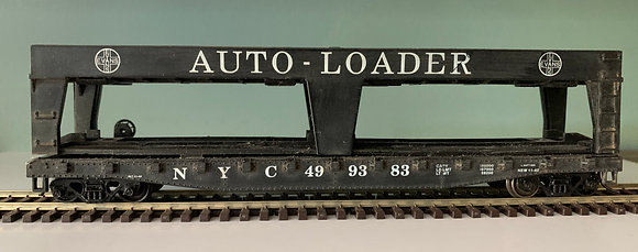 NEW YORK CENTRAL -  40ft Auto Loader Car - HO
