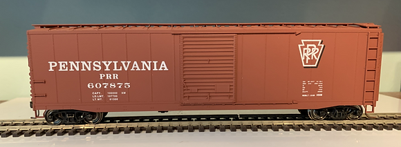 PENNSYLVANIA - 50ft AAR Single Door Steel Box  Car  - HO