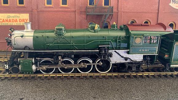 Southern Railway -  2-8-2 #4501   Brass  HO