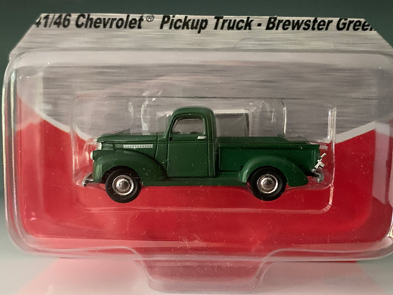 Brewster Green Chevrolet Pickup Truck    - Mini Metals
